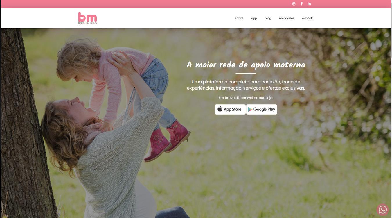 Projeto Benditas Mães