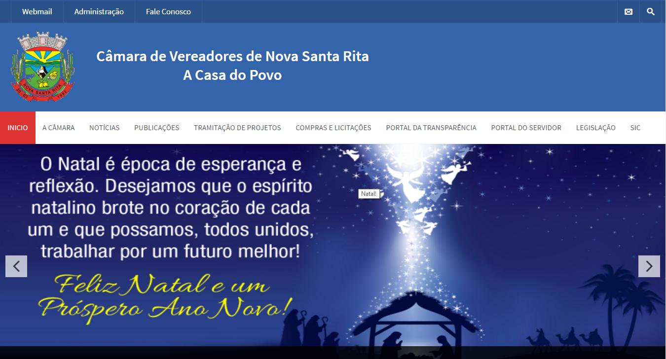 Câmara de Vereadores Nova Santa Rita