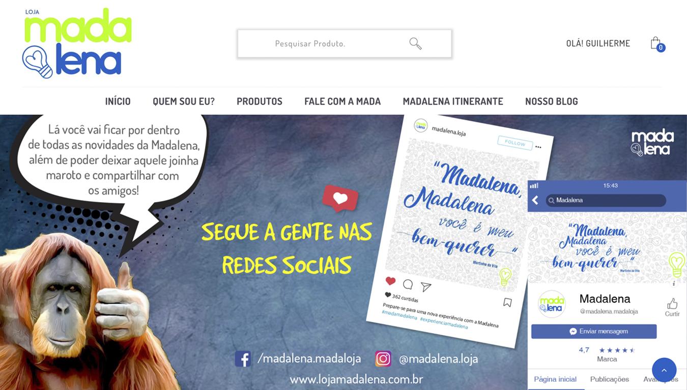 Projeto Loja Madalena