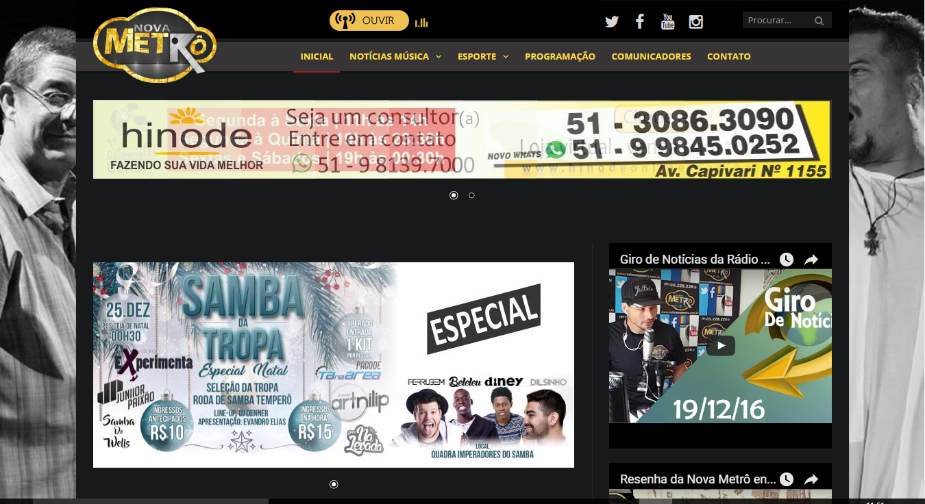 Rádio Nova Metro